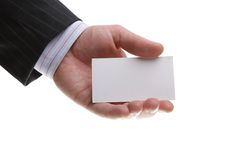 άτομα χεριών επιχειρηματιώ Στοκ Φωτογραφία