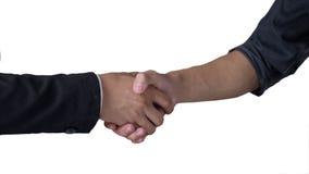 άτομα χεριών που τινάζουν δύο Στοκ εικόνα με δικαίωμα ελεύθερης χρήσης