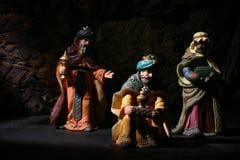 άτομα Χριστουγέννων σοφά Στοκ φωτογραφία με δικαίωμα ελεύθερης χρήσης