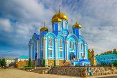 Άτομα Nativity Zadonsk η κυρία μας Convent Lipetsk oblast Ρωσία Στοκ Εικόνα