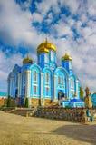 Άτομα Nativity Zadonsk η κυρία μας Convent Lipetsk oblast Ρωσία Στοκ Εικόνες