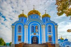 Άτομα Nativity Zadonsk η κυρία μας Convent Lipetsk oblast Ρωσία Στοκ φωτογραφία με δικαίωμα ελεύθερης χρήσης