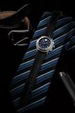 Άτομα ` s wristwatch Στοκ Εικόνες