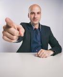 άτομο δάχτυλων που δείχνει σας Στοκ εικόνα με δικαίωμα ελεύθερης χρήσης