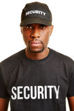 Άτομο από την εταιρία ασφάλειας στοκ εικόνες με δικαίωμα ελεύθερης χρήσης