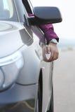 άτομο αυτοκινήτων στοκ φωτογραφία με δικαίωμα ελεύθερης χρήσης
