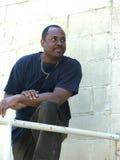 άτομο αφροαμερικάνων Στοκ Φωτογραφία