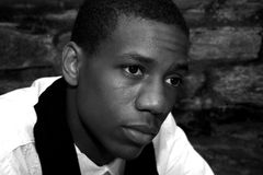 άτομο αφροαμερικάνων Στοκ φωτογραφία με δικαίωμα ελεύθερης χρήσης