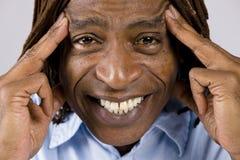 άτομο αφροαμερικάνων στοκ εικόνες