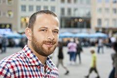άτομο γενειάδων Στοκ εικόνα με δικαίωμα ελεύθερης χρήσης