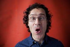 άτομο γυαλιών δασύτριχο Στοκ εικόνα με δικαίωμα ελεύθερης χρήσης