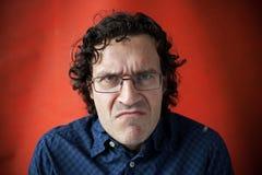 άτομο γυαλιών δασύτριχο Στοκ φωτογραφία με δικαίωμα ελεύθερης χρήσης