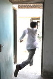 άτομο διαφυγών στοκ εικόνες