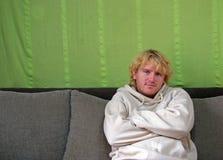 άτομο δυστυχισμένο Στοκ Εικόνα