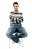 άτομο εδρών Στοκ φωτογραφία με δικαίωμα ελεύθερης χρήσης