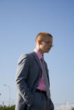 άτομο επιτυχές Στοκ εικόνα με δικαίωμα ελεύθερης χρήσης