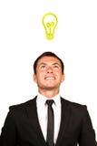 άτομο επιχειρησιακής ιδέ& Στοκ φωτογραφία με δικαίωμα ελεύθερης χρήσης