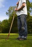 άτομο κήπων Στοκ εικόνες με δικαίωμα ελεύθερης χρήσης