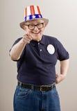 άτομο καπέλων αμερικανικ Στοκ Εικόνες