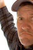 άτομο καπέλων του μπέιζμπολ Στοκ φωτογραφία με δικαίωμα ελεύθερης χρήσης