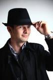 άτομο καπέλων Στοκ εικόνα με δικαίωμα ελεύθερης χρήσης