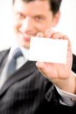 άτομο καρτών Στοκ Εικόνα