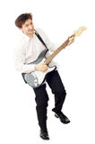 άτομο κιθάρων Στοκ φωτογραφίες με δικαίωμα ελεύθερης χρήσης