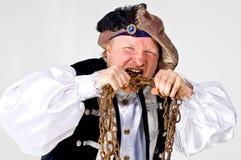 άτομο κοστουμιών μεσαιωνικό Στοκ Φωτογραφίες