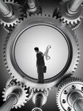 Άτομο μέσα σε μια μηχανή απεικόνιση αποθεμάτων