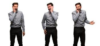 Άτομο Μεσαίωνα που φορά ένα κοστούμι στοκ εικόνα