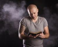 Άτομο με τη δερματοστιξία Στοκ εικόνες με δικαίωμα ελεύθερης χρήσης