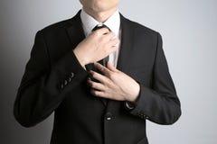 Άτομο με το κοστούμι Στοκ Εικόνες