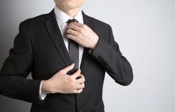Άτομο με το κοστούμι Στοκ φωτογραφία με δικαίωμα ελεύθερης χρήσης