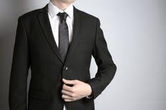 Άτομο με το κοστούμι Στοκ Φωτογραφία