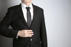 Άτομο με το κοστούμι Στοκ Φωτογραφίες