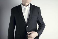Άτομο με το κοστούμι Στοκ Εικόνα