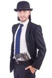 Άτομο με το πυροβόλο όπλο Στοκ φωτογραφίες με δικαίωμα ελεύθερης χρήσης
