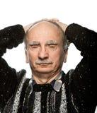 Άτομο με το στόμα του αντί των ματιών Στοκ Φωτογραφίες