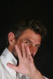 Άτομο με το χέρι στοκ εικόνες με δικαίωμα ελεύθερης χρήσης