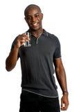 Άτομο με το ύδωρ στοκ εικόνα με δικαίωμα ελεύθερης χρήσης
