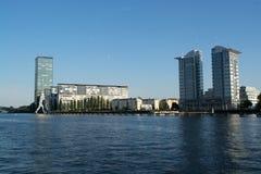 Άτομο μορίων, Treptow, Βερολίνο, Γερμανία Στοκ Εικόνα