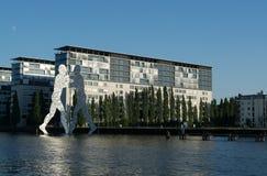 Άτομο μορίων, Treptow, Βερολίνο, Γερμανία Στοκ Εικόνες