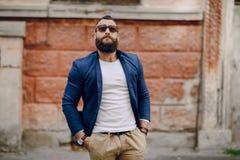 Άτομο μόδας brard Στοκ φωτογραφία με δικαίωμα ελεύθερης χρήσης