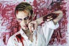 άτομο πάλης Στοκ Εικόνα