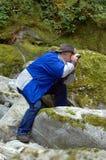άτομο πουλιών Στοκ Εικόνα