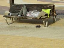 άτομο που κουράζεται Στοκ φωτογραφία με δικαίωμα ελεύθερης χρήσης