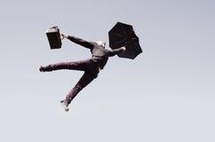 άτομο πτήσης Στοκ φωτογραφία με δικαίωμα ελεύθερης χρήσης