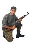 άτομο πυροβόλων όπλων κάλ&upsi στοκ φωτογραφίες με δικαίωμα ελεύθερης χρήσης