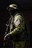 άτομο πυροβόλων όπλων στοκ εικόνα