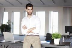 Άτομο πωλήσεων πορτρέτου Στοκ εικόνες με δικαίωμα ελεύθερης χρήσης